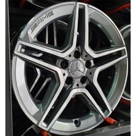 Roda Raw Mercedes AMG aro 18 5x112 tala 8 GDB