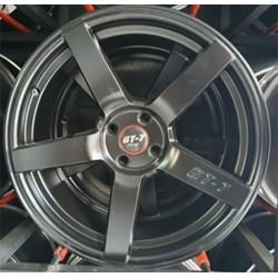Roda GT7 4x100 Tala 7/5 ET 40 Preto Acetinado