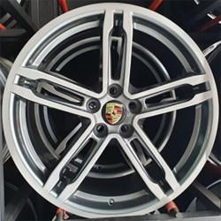 Roda Original Porsche Macan BB5 aro 19 5x112 tala 9 Grafite Escovado